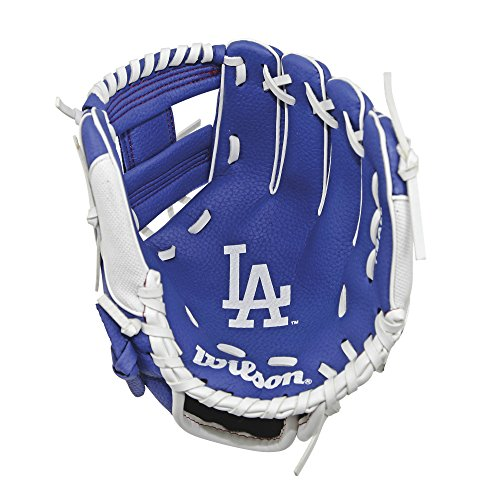 Wilson A0200 Los Angeles Dodgers Baseball Gloves, 10