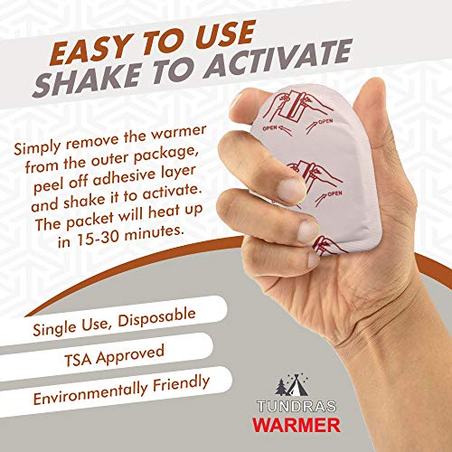 Toe Foot Hot Warmers - 40 Count, Adhesive Long Lasting Air Activated Disposable Natural Heating Pads for Shoes, Boots – Odorless & Comfortable for Outdoor Work, Sports Activities – Heats Up to 6 Hours