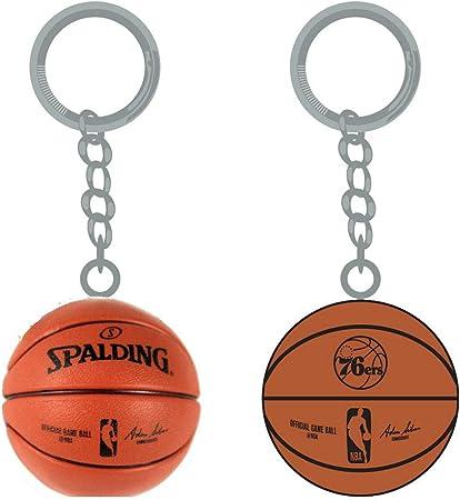 Psg Inc Nba Philadelphia 76ers Sports Team Logo Mini Basketball Schlüsselanhänger Sport Freizeit