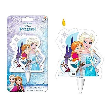 Les paquetería Negros LCN - Vela 2D Frozen la Reine Des ...