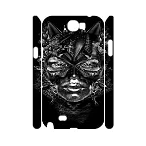 Catwoman FG0049439 3D Art Print Design Phone Back Case Customized Hard Shell Protection Samsung Galaxy Note 2 N7100