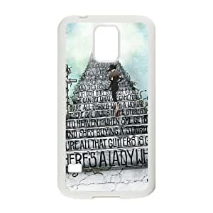 Led Zeppelin Samsung Galaxy S5 Cell Phone Case White MSY201601AEW
