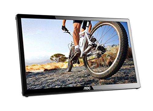 AOC e1759Fwu 17-Inch Ultra Slim 1600x900 Res, 220cd/m2 Brightness USB 3.0-Powered Portable LED Monitor (Certified Refurbished)