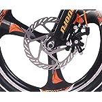 TX-Mountain-Bike-per-Bambini-Lega-di-Magnesio-con-Leva-del-Cambio-Ruota-A-Raggi-Ammortizzatore