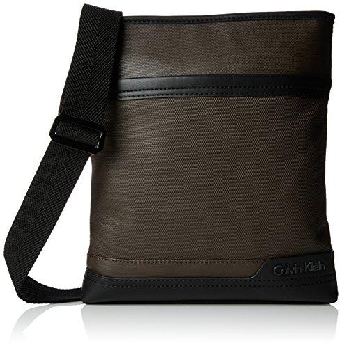 Calvin Klein Jeans Ethan Flat Crossover - Shoulder Bag For Men Java 17