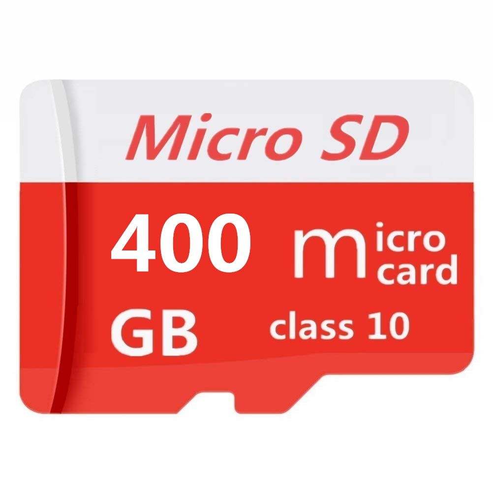 Micro SD SDXC Card 400GB High Speed Class 10 Memory Micro SD Card with SD Adapter