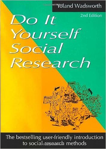 Do it yourself social research yoland wadsworth 9781864484151 do it yourself social research yoland wadsworth 9781864484151 amazon books solutioingenieria Choice Image