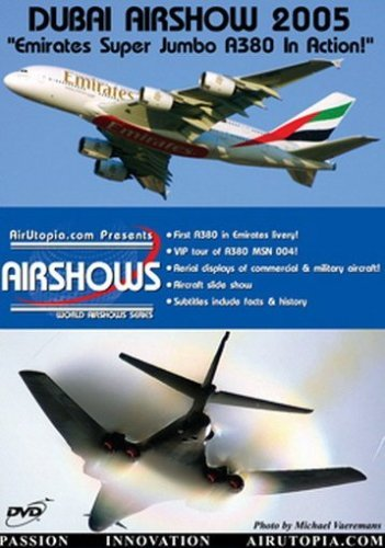 Dubai Air Show Dvd Emirates A380 In Action