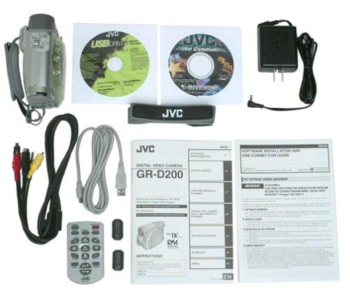 JVC GR D200E DRIVER FOR PC