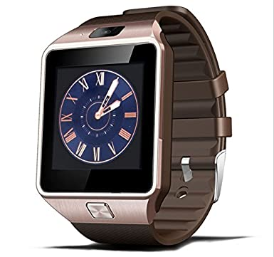 Reloj inteligente de DZ09; Bluetooth, con ranura para tarjeta SIM y hacer llamadas telefó
