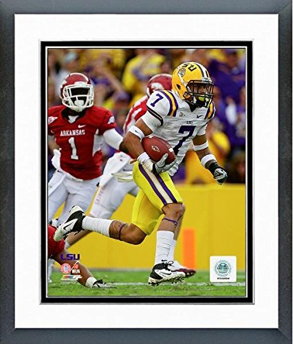 (Tyrann Mathieu LSU Tigers NCAA Action Photo (Size: 12.5