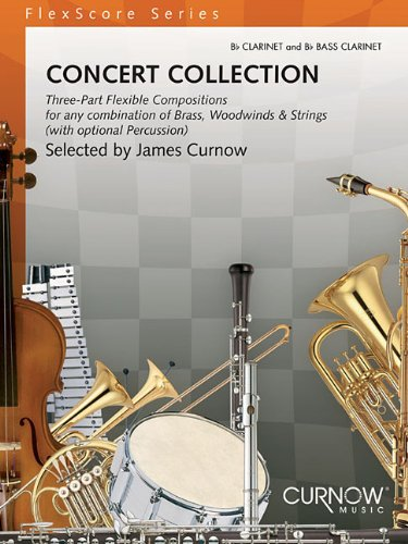 Read Online Concert Collection (Grade 1.5): Bb Clarinet and Bb Bass Clarinet (FlexScore) PDF