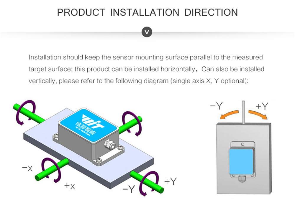 Commercio, Industria e Scienza SINRT RS232 Sensor High ...