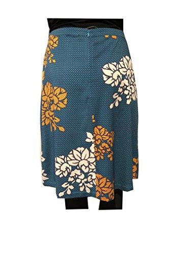 ZILCH Blumenrock Kimono Turquoise 81VIS50.030