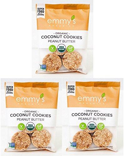 Emmy's Organics Peanut Butter Coconut Cookies
