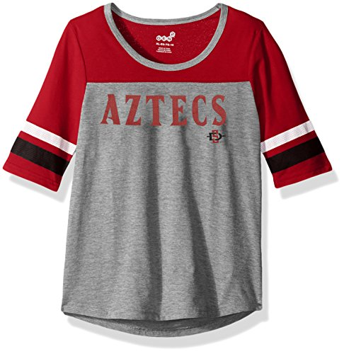 """NCAA teen-girls """"Fan-Tastic"""" Short Sleeve Tee from Outerstuff Licensed Youth Apparel"""