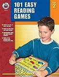 101 Easy Reading Games, Grade 2, Carson-Dellosa Publishing Staff, 0768234123