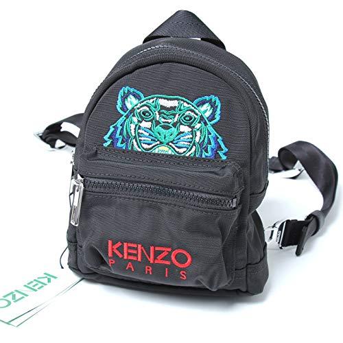 (ケンゾー) Kenzo バックパックリュック Black Mini Tiger Backpack [並行輸入品] B07P8HPX19