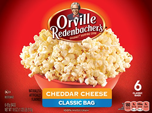 (Orville Redenbacher's Gourmet Cheddar Cheese Microwave Popcorn, 6 Count, 18 Ounce)