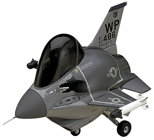 Fighting Falcon Aircraft Kit - Hasegawa Egg Plane F-16 Fighting Falcon