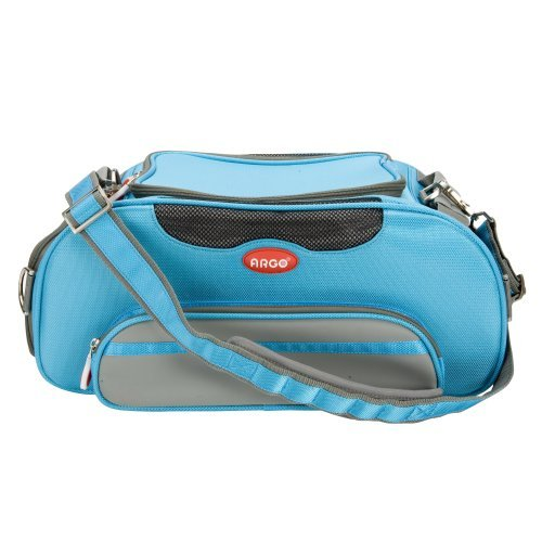 Teafco Argo Large Aero-Pet Airline-Approved Pet Carrier, Berry bluee by Teafco