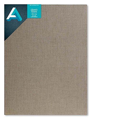 Art Alternatives Linen Stretched Canvas 18x24 [並行輸入品]   B07T9SCYC4