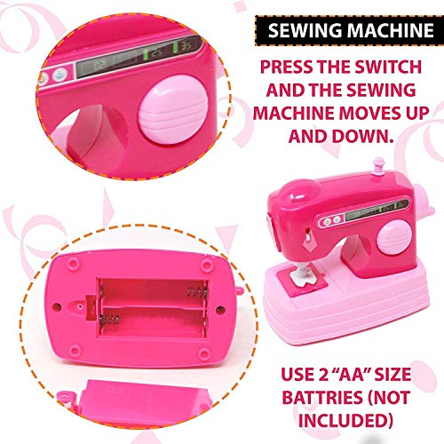 SVE Best Household Appliances Set for Kids Includes Washing Machine, Vacuum Cleaner, Sewing Machine and Iron with Light and Sound 51C39REjydL India 2021