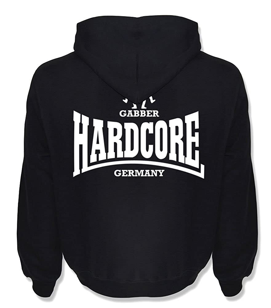 KNOW-MORE-STYLEZ Hooded Sweatshirt Hardcore Gabber Germany B0166RLEBO Kapuzenpullover Professionelles Design