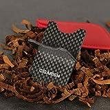 CIGARISM Carbon Fiber Detachable Cigar Travel Stand Rests Holder Ashtray