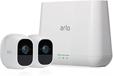 Best Security Cameras For Home Outdoor 2020.Arlo Pro 2 Wireless Home Security Camera System With Siren Rechargeable Night Vision Indoor Outdoor 1080p 2 Way Audio Wall Mount Cloud