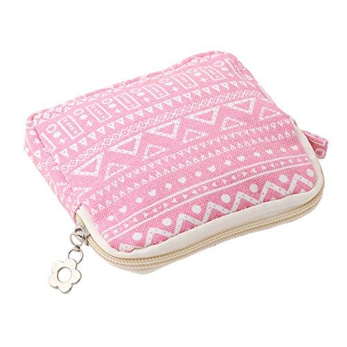 VWH Große Kapazität Damenbinden Aufbewahrungstasche Geldbörse für Mädchen (# 06) # 03 3dqP5GG