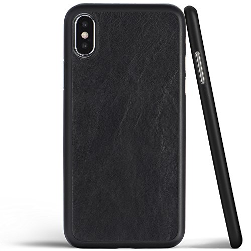 iPhone-X-Case-Thinnest-Genuine-Leather-Cover-for-Apple-iPhone-X-Ultra-Thin-Slim-Real-Premium-Leather-Back