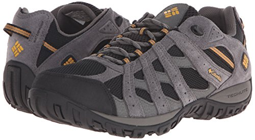 Columbia Men's Redmond Waterproof Hiking Shoe Black, Squash 7.5 D US by Columbia (Image #6)