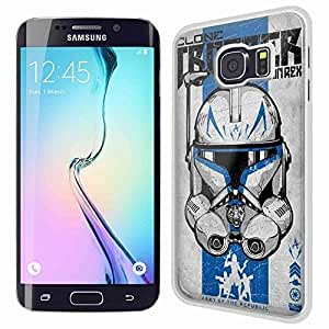 Clone Trooper Captain Rex Star Wars for Iphone and Samsung Galaxy Case (Samsung S6 Edge White)