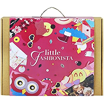 Little Fashionista 6-In-1 Girl Craft Kit: Great Xmas Gift For Girls Ages 5-10 Years