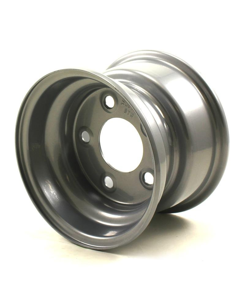 JG 8X5.375 5/4.5 Silver Bell Trailer Wheel JG Wheels