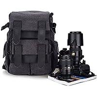 Dslr SLR Waterproof Camera Backpack by BESTEK - For Canon Nikon SLR Camera; Great as Rucksack too.