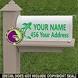 KOI Custom Mailbox Set Vinyl Decal Sticker F