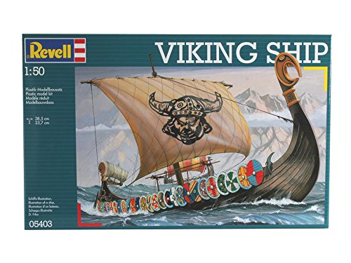 Plastic Model Germany Ship (Revell of Germany Viking Ship Plastic Model Kit)