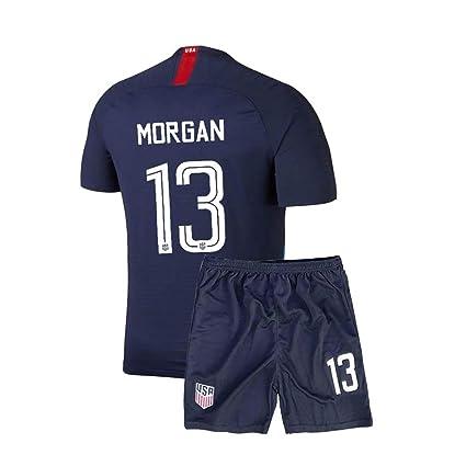 c473dd6ef Youth Morgan USA National Alex Home 13 Boys Kids 2018 19 Jersey   Shorts