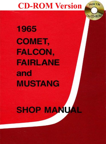 Fairlane and Mustang Shop Manual (1965 Ford Motor)