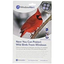 Window Alert WINDA7 Snowflake Window Decal and Deterrent for Birds