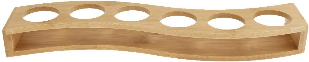 Flameer 2 Style Bamboo Shot Glass Holder