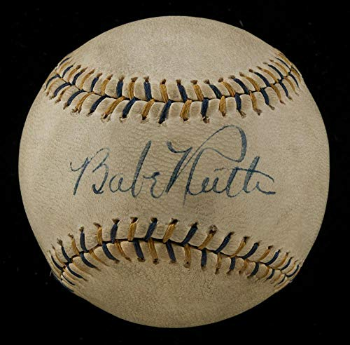Signed Babe Ruth Baseball - Spectacular Single COA for sale  Delivered anywhere in USA