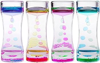 4-Pk. Bestomz Liquid Motion Timer Bubbler