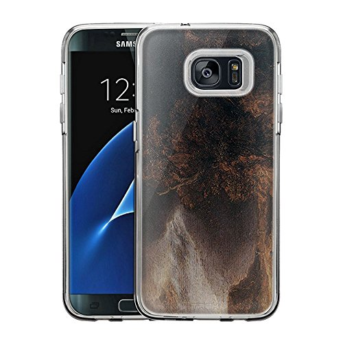 (Samsung Galaxy S7 Edge Case, Snap On Cover by Trek Rembrandt Landscape with the Good Samaritan One Piece Trans Case)