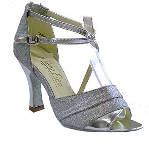 Shoes Shades Silver Silver 1659 Silver Leather Salsa Stardust Ballroom Dress Dance amp; 50 of Wedding Clubing Collection I 4XFdwq