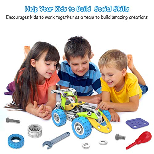AceLife STEM Toys Kit 10 in 1 Motorized Educational ...