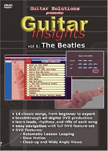 Guitar Insights-The Beatles, Vol.1 (Beatles Guitar Dvd)