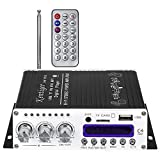 Robolife USB Kentiger V10 Bluetooth Hi-Fi Class-AB Stereo Super Bass Audio Power Amplifier with Romote Control